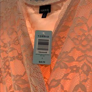 Torrid lace dress size 2